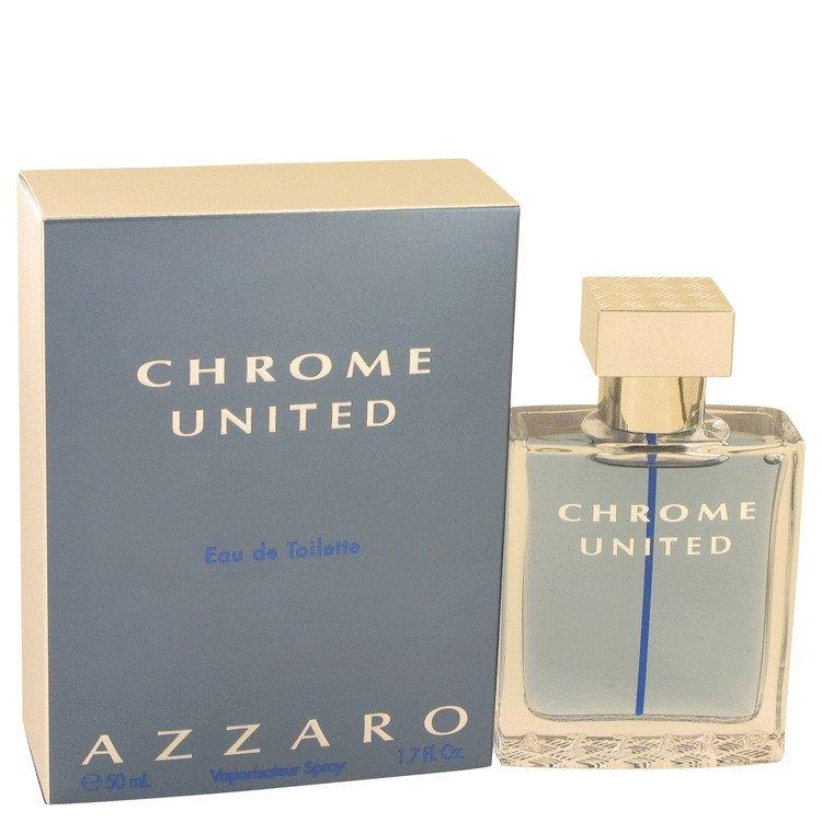 Chrome United Eau de Toilette by Azzaro