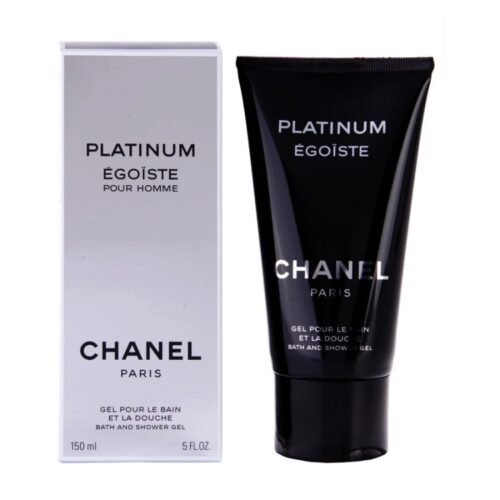 Egoiste Platinum Shower Gel by Chanel