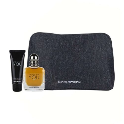 Emporio Armani Stronger With You Gift Set by Giorgio Armani