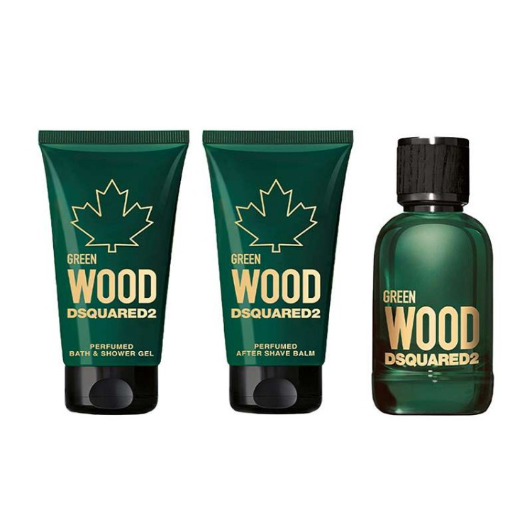 Green Wood Gift Set by Dsquared2