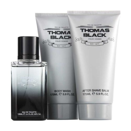Parfums Thomas Black Pour Homme Gift Set by Laurelle